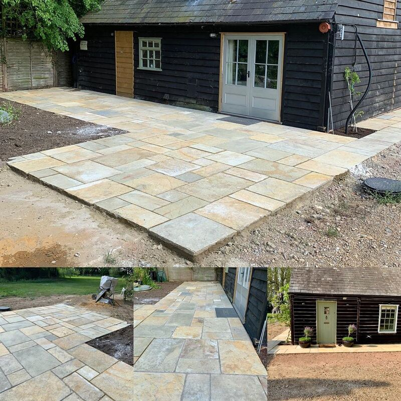 Limestone Paving Installation in Sudbury